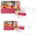 Corporate Event Planner & Caterer - Postcard Template Design