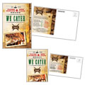 Steakhouse BBQ Restaurant - Postcard Template Design