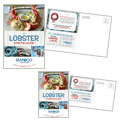 Seafood Restaurant - Postcard Template Design