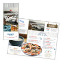 Seafood Restaurant - Take-out Brochure Template Design