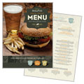 Brewery & Brew Pub - Menu Design