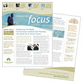 Investment Management - Newsletter Template Design