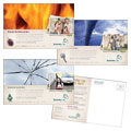 Life Insurance Company - Postcard Template Design