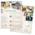 Life Insurance Company - Datasheet Template Design