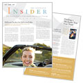 Car Insurance Company - Newsletter Template Design