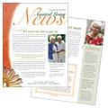Assisted Living Facility - Newsletter Template Design