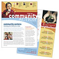 Community Non Profit - Newsletter Design