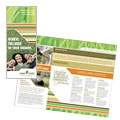 Lawn Care & Mowing - Brochure Template Design Sample
