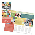 Non Profit Association for Children - Brochure Template Design