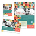 Non Profit Association for Children - Flyer & Ad Template Design