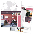 Interior Designer - Brochure Template Design Sample