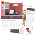 Interior Designer - Newsletter Template Design