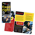 Auto Repair - Brochure Template Design Sample