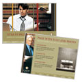 Lawyer & Law Firm - PowerPoint Presentation Template Design