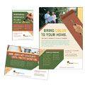 Painter & Painting Contractor - Flyer & Ad Template Design