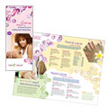 Nail Salon - Brochure Template Design Sample
