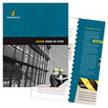 Industrial & Commercial Construction - Brochure Template Design