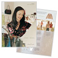 Women's Clothing Store - Brochure Template Design Sample