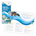 Swimming Pool Cleaning Service - Brochure Template Design
