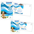 Swimming Pool Cleaning Service - Postcard Template Design