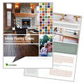 Carpet & Hardwood Flooring - Brochure Template Design Sample