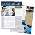 Small Business Consulting - Newsletter Template Design