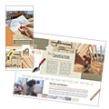 Home Building & Construction - Brochure Template Design