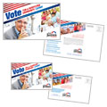 Political Campaign - Postcard Template Design
