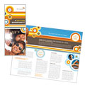 Tanning Salon - Brochure Template Design Sample