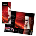 Makeup Artist - Tri Fold Brochure Template Design