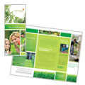 Lawn Mowing Service - Brochure Template Design
