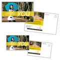 Insurance Agent - Postcard Template Design