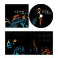 Jazz Music Event - CD Booklet Template Design