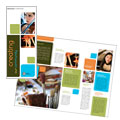 Arts Council & Education - Brochure Template Design Sample