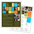 Arts Council & Education - Datasheet Template Design