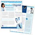 Dentistry & Dental Office - Newsletter Template Design