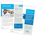 Science & Chemistry - Datasheet Template Design