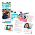 Adolescent Counseling - Tri Fold Brochure Template Design