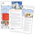 Hospital - Datasheet Template Design