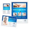 Reflexology & Massage - Flyer & Ad Template Design