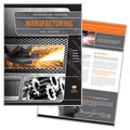 Manufacturing Engineering - Brochure Template Design