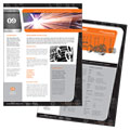 Manufacturing Engineering - Datasheet Template Design