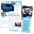 Child Advocates - Newsletter Template Design