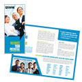 Staffing & Recruitment Agency - Brochure Template Design Sample
