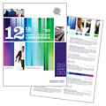 Business Leadership Conference - Brochure Template Design Sample