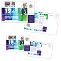 Business Leadership Conference - Postcard Template Design
