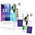 Business Leadership Conference - Poster Template Design