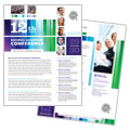 Business Leadership Conference - Datasheet Template Design