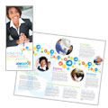 Job Expo & Career Fair - Tri Fold Brochure Template Design