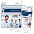 Marketing Agency - Brochure Template Design Sample